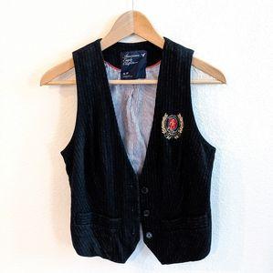 American Eagle Pinstripe Vest